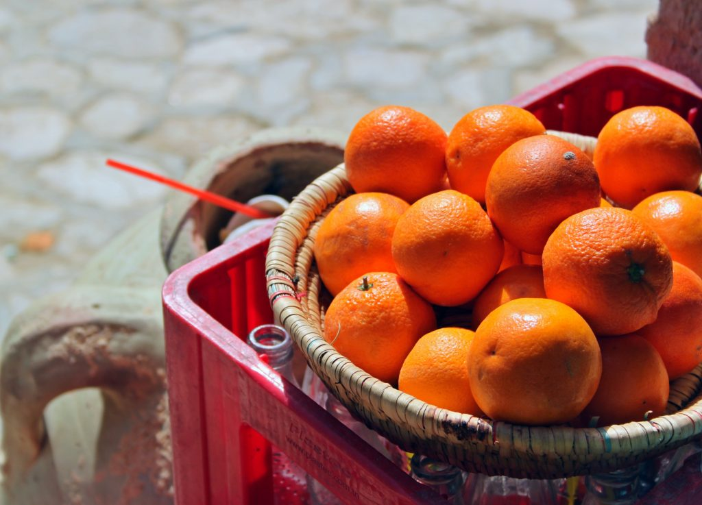 Hjemmelavet appelsinjuice